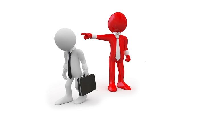 Увольнение с места работы