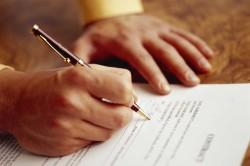 Оформление документов для получения кредита