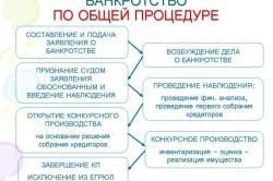 Схема осуществления банкротства