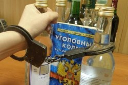 Незаконная продажа алкоголя