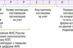 Расшифровка КПП кода