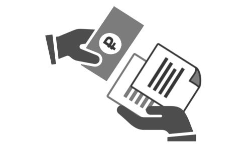 Выдача товарных чеков
