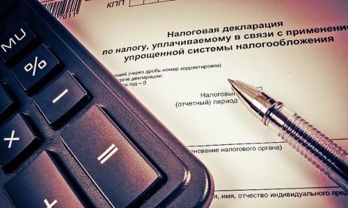 Особенности заполнения налоговой декларации