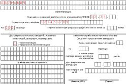 Налоговая декларация ИП по УСН