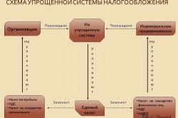 Схема упрощенной системы налогообложения ИП