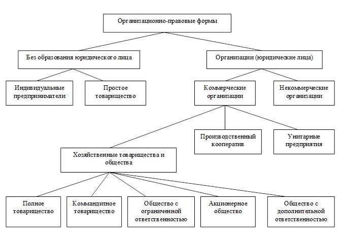 Что такое организационно-правовая форма